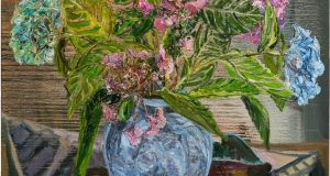 Detail from Hydrangeas by Nick Miller