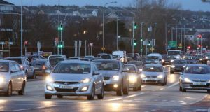 Cross-town traffic: near the busy junction at the Galway Shopping Centre on the Headford Road. Photograph: Joe O'Shaughnessy.