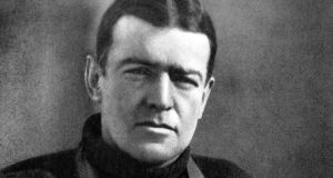 Ernest Shackleton in 1915, from Shackleton: By Endurance We Conquer by Michael Smith, published by the Collins Press.