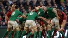 Ireland's Conor Murray in action: the scrumhalf has  been passed fit to play against Italy in Rome this Saturday. Photograph: Cyril Byrne/The Irish Times