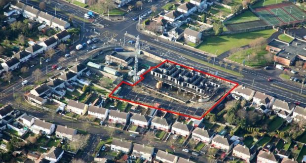 Partially built residential Dublin 9 site close to DCU goes