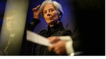 Christine Lagarde. grianghraf: cyril byrne/the irish times