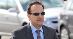 Minister for Health Leo Varadkar. Now time for action to reduce consumption and tackle alcohol abuse. Photograph: Collins