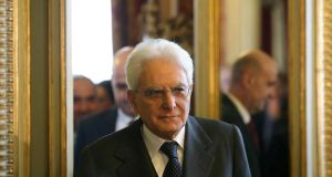 'Italy must have one of the world's highest presidential candidacy age thresholds, requiring its candidates to have reached age 50. But equally, there is a list of countries with lower age thresholds. Slovenia and France both set the age of candidacy at 18.' Above, newly elected Italian President, Sergio Mattarella, arrives at Constitutional Court in Rome, on January 31st. Photograph: EPA/Ettore Ferrari