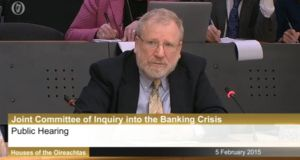 Professor Bill Black speaking before the Committee of Inquiry into the Banking Crisis, 5th February 2015