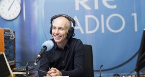 Ray D'Arcy: any qualms that he might steer clear of contentious issues are dispelled on his second day