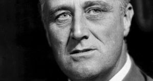 Franklin D Roosevelt's path-breaking initiative closed the curtain on the depression era with a newly conceived allocation of material resources but also provided a major emotional and psychological impetus, releasing new energies and aspirations for a better future