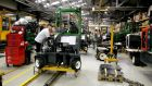 Manufacturing at the Combilift Forklifts. Photograph: Dave Sleator/Irish Times