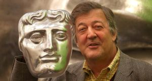 Stephen Fry has defended his statements on Gay Byrne's show, The Meaning of Life . Photograph: Philip Toscano/PA Wire
