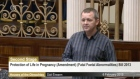 Richard Boyd Barrett has given an impassioned speech to the Dáil about his personal experience with fatal foetal abnormalities.