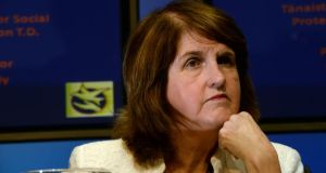 Tánaiste Joan Burton has confirmed the Labour Party will be voting against an abortion Bill proposed by Independent TD Clare Daly. Photograph: Cyril Byrne/The Irish Times.