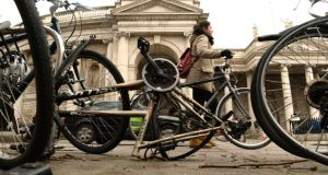 The Dublin Cycling Campaign is calling for the establishment of a working group co-ordinated by Dublin City Council to develop a scheme to reduce bike theft in the city. File photograph: Cyril Byrne/The Irish Times
