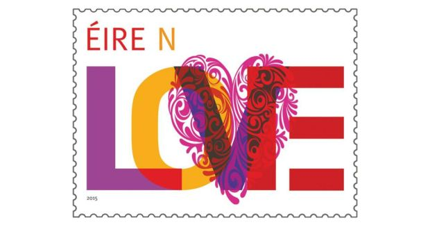 An Post S Latest Love Stamp Is The Ninth Of Its Kind And Comes In