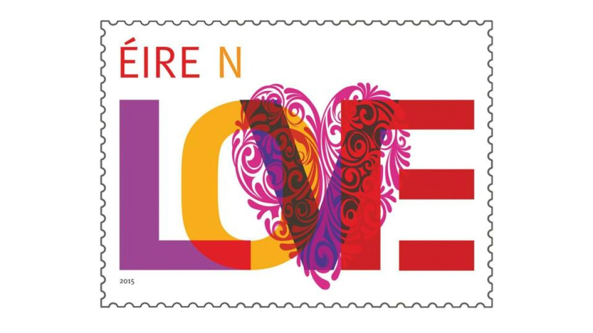 An Post says new \'love stamp\' ideal for civil union invitations