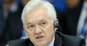 Gennady Timchenko, a billionaire associate of Russian president Vladimir Putin and one of the main targets of sanctions imposed on Russian individuals and businesses in response to the annexation of Crimea and the crisis in eastern Ukraine.