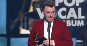 Sam Smith wins big at the Grammy Awards, taking both record and song of the year, while rocker Beck takes album of the year. Video: Recording Academy/CBS/Reuters