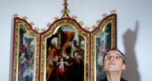 Franz-Peter Tebartz-van Elst: the bishop made world headlines two years ago when details of a €30 million renovation project for the bishop's palace were revealed. Photograph: Boris Roessler/EPA