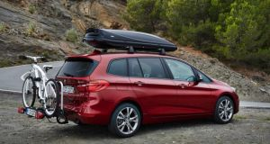 BMW's new 2-Series Gran Tourer - a family-sized people carrier, though don't expect the Germans to refer to it as such
