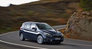 BMW's new 2-Series Gran Tourer - will make its public debut at the Geneva motor show next month