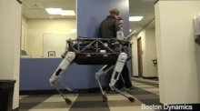 Man's best machine: viral video of new Google robot dog