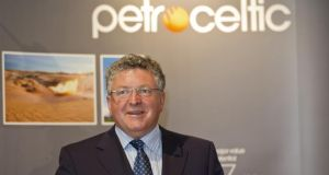 Petroceltic chief executive Brian O'Cathain. Petroceltic International has urged shareholders to vote against the resolutions proposed by Worldview at the upcoming EGM.