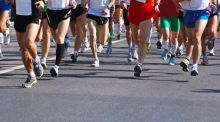Bad news for those who regularly run marathons or ultra-marathons: such running can damage your health. Photograph: Thinkstock