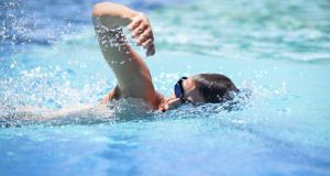 Swimming can be as demanding as you want to make it