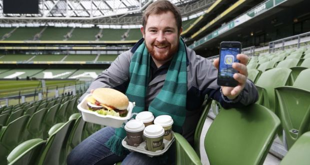 7bfec8fddb6a4 Cian O'Higgins, digital marketing executive for Compass Group Ireland which  looks after catering