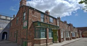 The Rovers Return pub in Coronation Street, the most-watched programme on UTV Ireland.