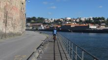 Pedalling through Porto, Portugal
