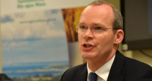 "Minister for Agriculture Simon Coveney: a spokeswoman for his department said the amendments made ""were processed in full accordance with the regulatory and legislative process in place"". Photograph: Alan Betson/The Irish Times"