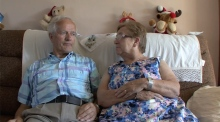 Irish emigrant sweethearts who found each other after 54 years apart