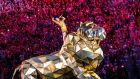 Halpin hand: Katy Perry at Super Bowl XLIX. Photograph: Christopher Polk/Getty