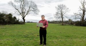Farmer John Bateman from Meanus, Co Limerick can't get broadband. Photograph:  Brian Gavin/Press 22