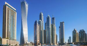 The Irish population in the the United Arab Emirates now numbers around 7,000, mainly in the cities of Abu Dhabi and Dubai (pictured). Photograph: iStock