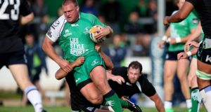 Nathan White: back in the Connacht line-up for the visit to Scarlets. Photo: James Crombie/Inpho