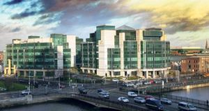 The Government's draft strategy for the IFSC has targeted 10,000 new jobs over five years. Photograph: Bryan O'Brien