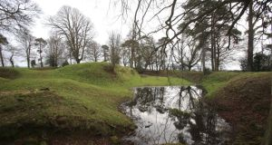 Tullaghoge Fort, Co Tyrone. An archaeological bid to discover more about the hilltop where Ulster chieftains were crowned 700-years ago has uncovered artefacts dating back more than 7,000 years. Photograph: Niall Carson/PA Wire