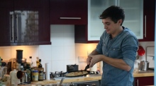 Flipping out with Donal Skehan for a perfect Pancake Tuesday