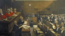 Modern Ireland in 100 Artworks: 1930 –High Treason, Court of Criminal Appeal: The Trial of Roger Casement, by Sir John Lavery