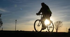 The new path will be the first section of the planned Sutton to Sandycove cycleway to be built. Photograph: The Irish Times