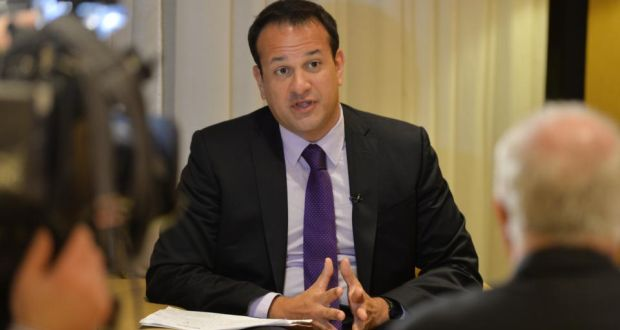 Minister for Health Leo Varadkar: The surrogacy proposals are expected to include a provision that at least one of those involved has to be a genetic parent. Photograph: Alan Betson/The Irish Times