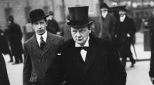 Winston Churchill. grianghraf: getty images