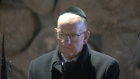 As part of his tour of the Middle East Minister for Foreign Affairs and Trade Charlie Flanagan visits the Israeli Holocaust Museum in Jerusalem. Video: Reuters