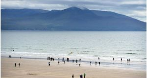 Inch Strand in Co Kerry which came in third place. Photograph: Bryan O'Brien/The Irish Times.