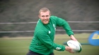 Keith Earls speaking from the Irish teams open training day in Galway, reveals how training under Joe Schmidt is like going back to school.