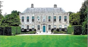 Castlemartin House in Co Kildare, top, the former home of Anthony O'Reilly, was one  of John Malone's recent Irish acquisitions
