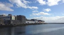 Go walk: the wild streets of Galway city