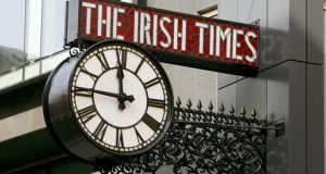 Some 80 per cent of the readership of 'The Irish Times' belongs to the ABC1 social group that advertisers deem an attractive target. Photograph: David Sleator