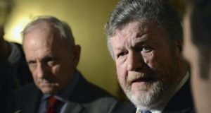 Plans introduced by former minister for health Dr  James Reilly to introduce plain packaging for tobacco products are to go ahead despite a legal threat from the tobacco industry. Photograph: Dave Meehan/The Irish Times